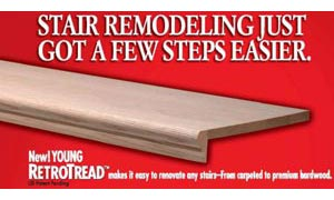 Stair Remodeling Just got a Few Steps Easier