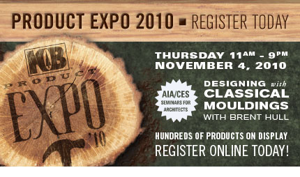 Product Expo 2010 - Register Today