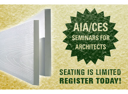 AIA/CES Seminars for Architects