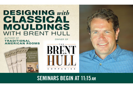 Designing with Classical Mouldings with Brent Hull