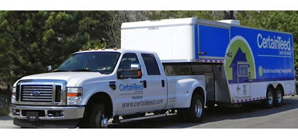 CertainTeed Truck and Trailer