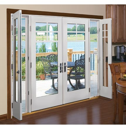 Patio door ventilation