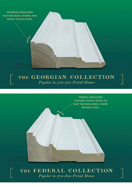 The Georgian Collection and The Federal Collection