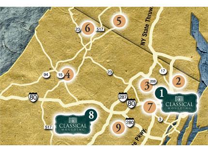 Kuiken Brothers Map