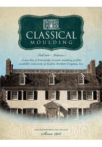 Request a KB Classical Moulding Catalog