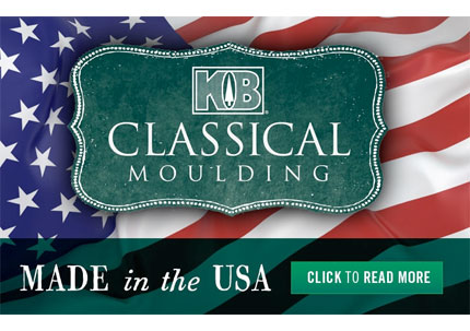 KB Classical Moulding Made in The USA