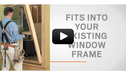 Andersen Windows Insert Double Hung Window Video