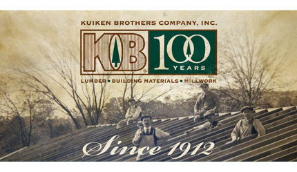 Kuiken Brothers Celebrates 100 Years in the Lumber, Millwork & Building Materials Industry