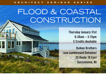 Flood and Coastal Construction Architects Seminar