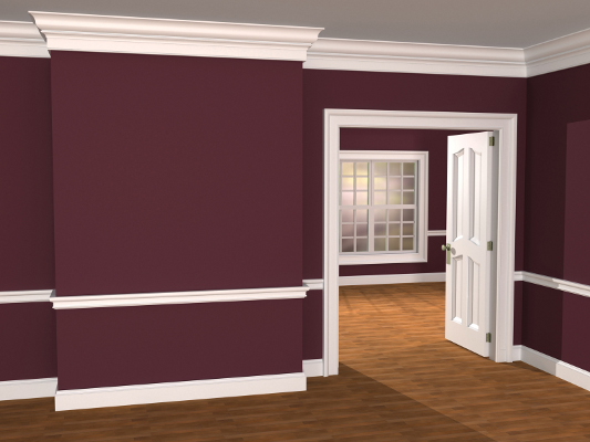 Traditional revival style mouldings from kuiken brothers for Contemporary moulding ideas