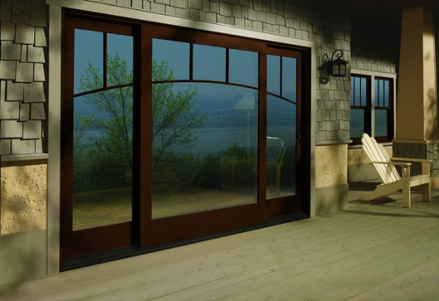 Patio door sliding and hinged inspirational gallery for Exterior patio doors