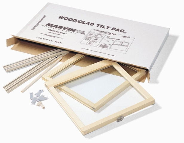 Replacement Window Series Marvin Tilt Pac Double Hung