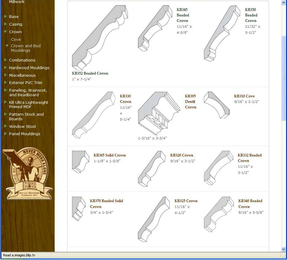 Moulding And Millwork Catalog : Combining kb mouldings doors hardware kuiken brothers