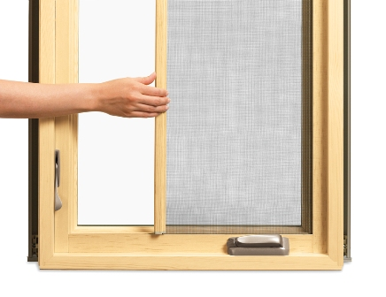 Marvin 39 s ultimate push out french casement and retractable for Marvin window screens