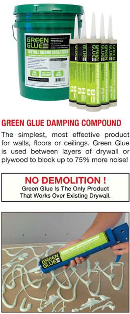Green Glue For Soundproofing A Room In Nj Amp Ny Kuiken
