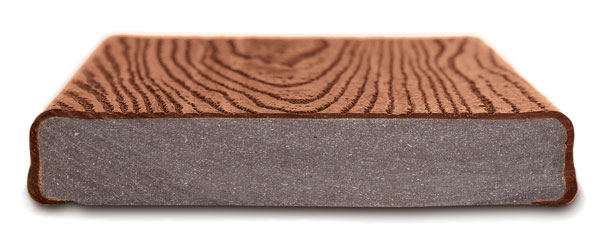 Trex transcend decking kuiken brothers for What is capped composite decking