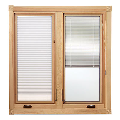 Eagle windows offers between the glass blinds now for Eagle windows