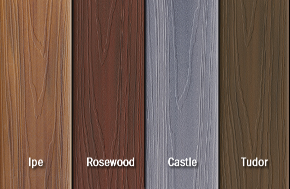 Best exterior paint brands fiberon horizon introduces new for Compare composite decking brands
