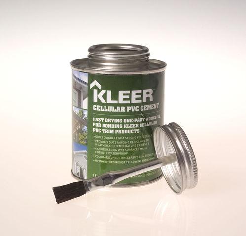 Kleer PVC Lumber's New Adhesives and Sealants - Available at Kuiken