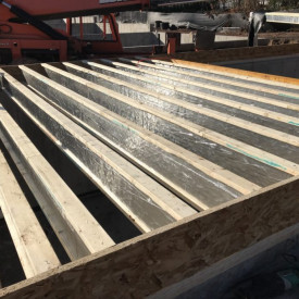 Boise Cascade's Fire Membrane Joist (AJS 24 FMJ) One-Step Fire Solution Available at Kuiken Brothers