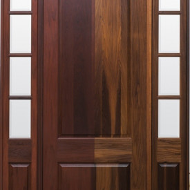 Lemieux Introduces Premium Torrefied Exterior Wood Door featuring No Overhang Requirements