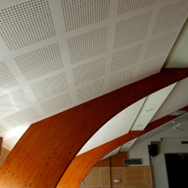 Certainteed's New Gyptone Large Format Acoustic Panels - Available from Kuiken Brothers Commercial Building Materials