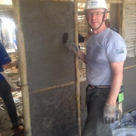 Kuiken Brothers' Doug Layden Builds in Nepal with Paterson Habitat for Humanity's International Blitz Build, November 2014