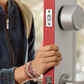 August Smart Locks - Unlock Your Door with Your Smart Phone - Available at Kuiken Brothers Locations in NJ & NY