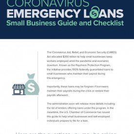 Coronavirus Emergency Loans Small Business Guide and Checklist from US Chamber of Commerce