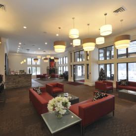 1960's Howard Johnson Motor Lodge Makeover with Kuiken Brothers Moulding