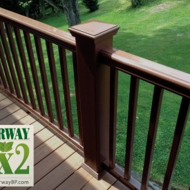 FAIRWAY Fx2 Composite Railing Available at Kuiken Brothers Building Materials in NJ & NY