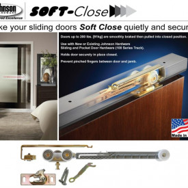 Johnson Soft Close Pocket Door Hardware Now In-Stock at Kuiken Brothers Locations in NJ & NY