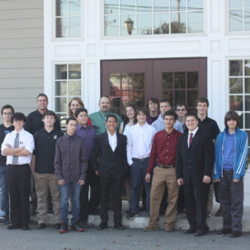 Sussex Technical High School Students Tour Kuiken Brothers Succasunna, NJ Location