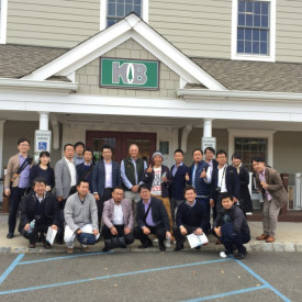 Kuiken Brothers Hosts Japanese Remodelers at Succasunna, NJ Location