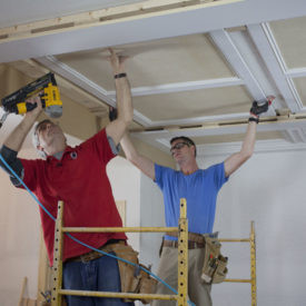 Video: How To Build a Panel/ Beam Ceiling with Stock Moulding from Kuiken Brothers Classical Moulding Collection