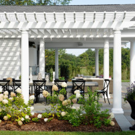 HB&G Serenity Stock Fiberglass Pergolas Series- Available at Kuiken Brothers Locations in NJ & NY