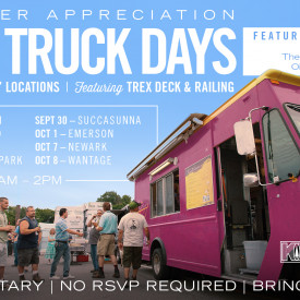 Trex LIVE Demo Day and Food Truck Events at Kuiken Brothers This September & October 2021
