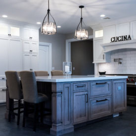 Kuiken Brothers Kitchen Cabinetry Project in Montvale, New Jersey