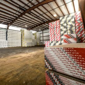 Large Inventory of In-Stock Drywall at Kuiken Brothers' Newark, NJ Location