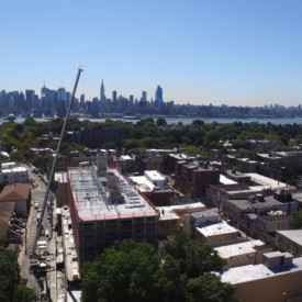 The Delivery - Commercial New Construction with Crane - Kuiken Brothers in NJ & NY