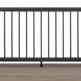 Black Trex Transcend Railing Now In-Stock at Kuiken Brothers Locations in NJ & NY