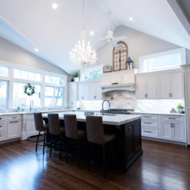 Kuiken Brothers Kitchen Cabinetry Project in Nutley, New Jersey
