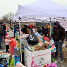 Over 3,000 Toys Donated at 2019 Toys for Tots Events at Kuiken Brothers in NJ & NY
