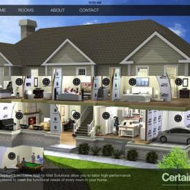 CertainTeed's Mobile App Helps Builders with Interactive Selling Tools for Choosing Wallboard