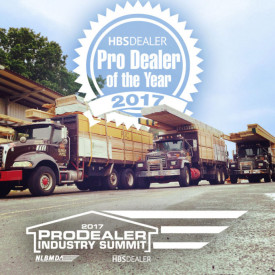 Kuiken Brothers Named 2017 ProDealer of the Year by HBSDealer Magazine and National Lumber & Building Material Dealers Association