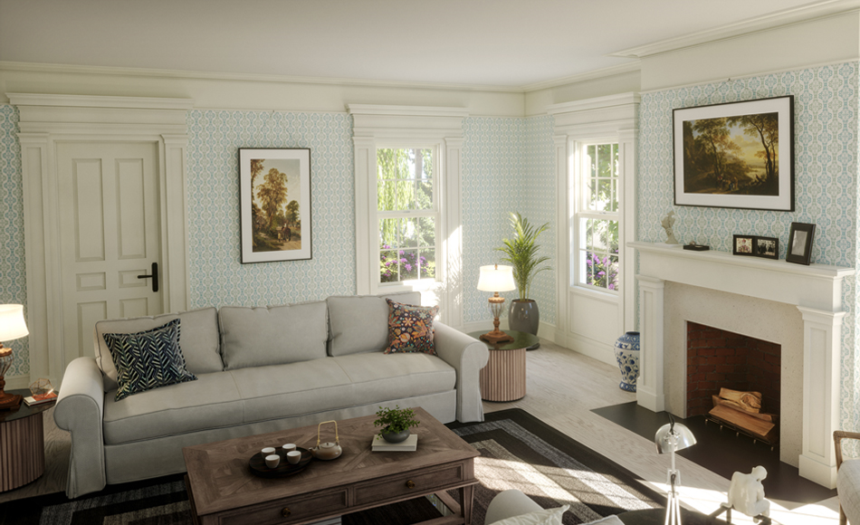 1830's Van Brunt Greek Revival Inspired Home
