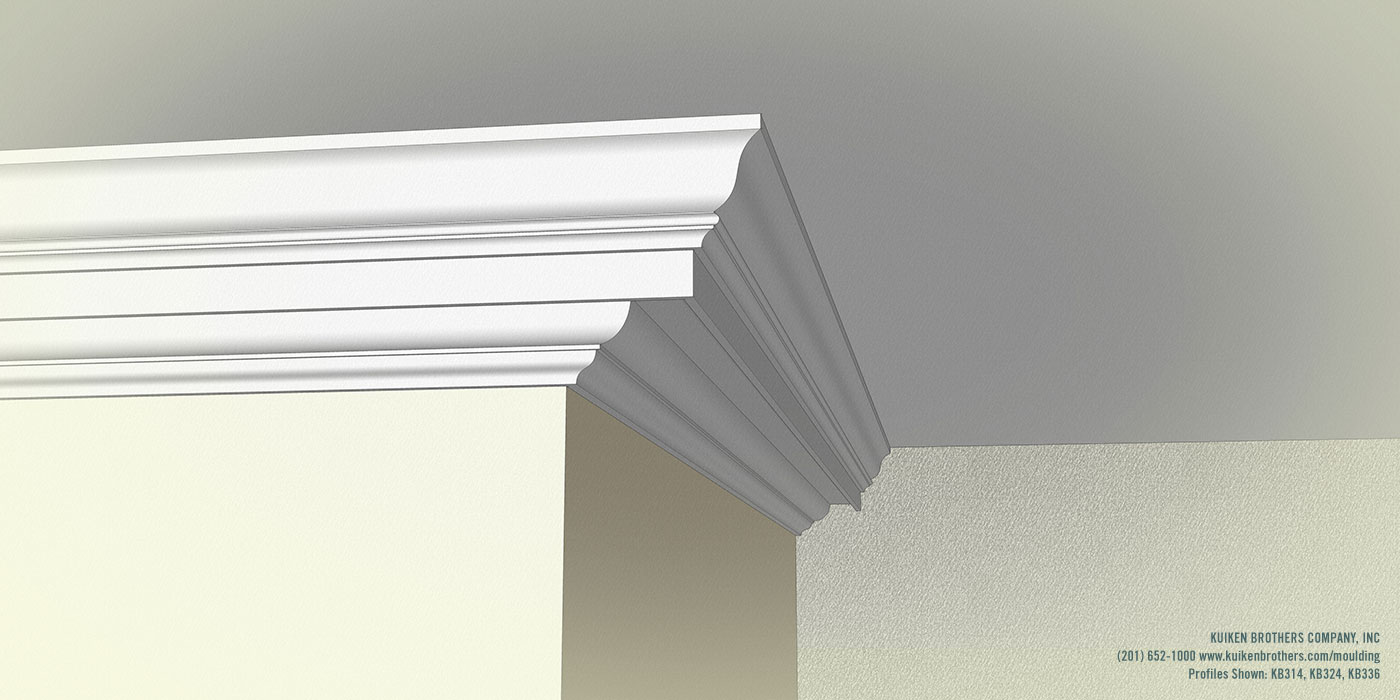 Federal Crown Boxed Cornice
