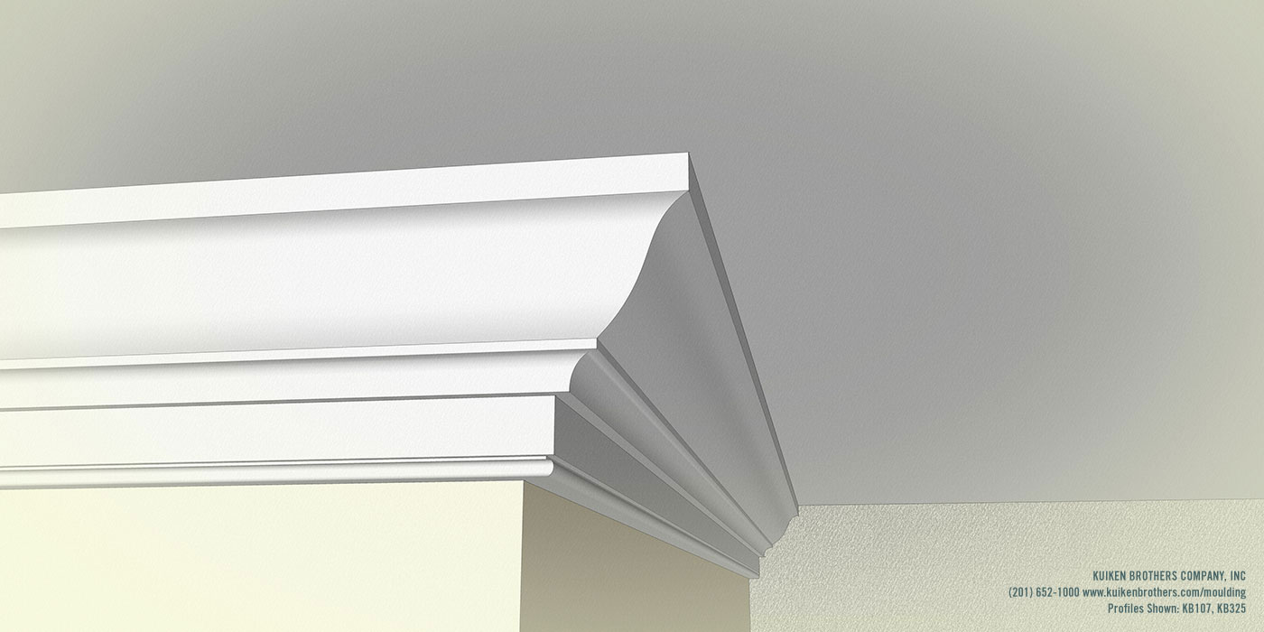 Colonial Revival Cornice 2 Profile Kuiken Brothers