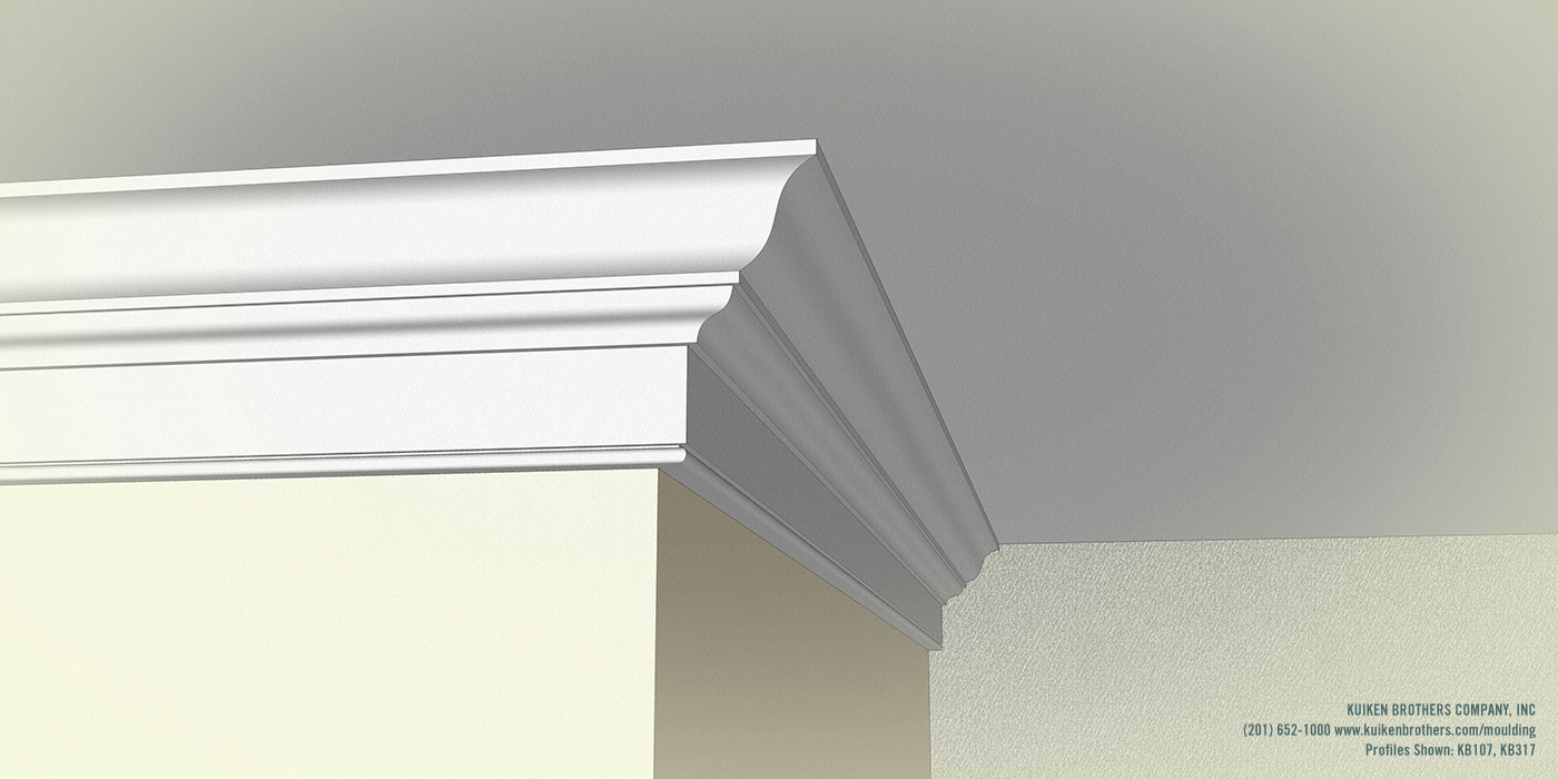 Multiprofile buildups kuiken brothers for Colonial cornice