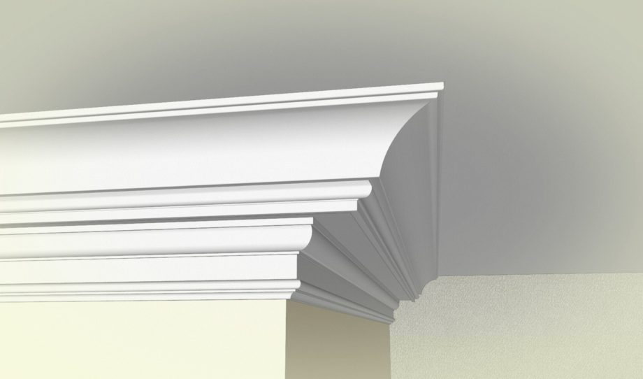 How To Create a Modern Cove Crown Moulding Build-Up with
